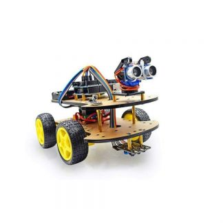 4WD Infrared Arduino Car Robot Kit