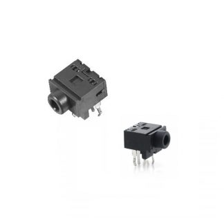 Breadboard-friendly port for 3.5mm audio jack (set of 2)