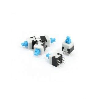 Latching Push-Button 7mm x 7mm (set of 5)