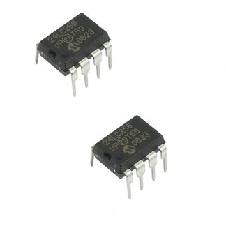 24LC256 32KB I2C EEPROM Memory IC (pack of 2)