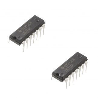 LM324 Quad Op-Amp IC (pack of 2)
