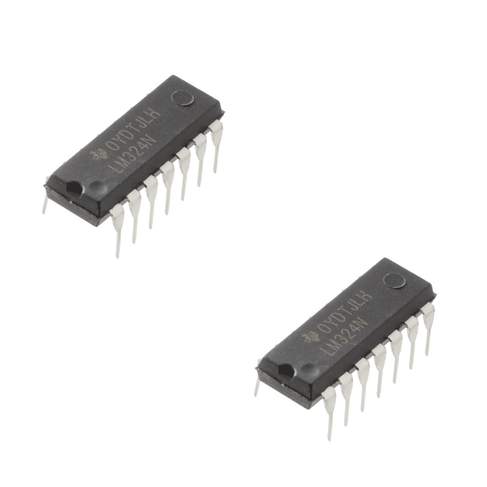 LM324 Quad Op-Amp IC (pack of 2)