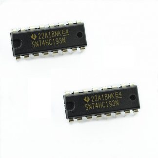 SN74HC193N Synchronous Up-Down Counter IC (pack of 2)