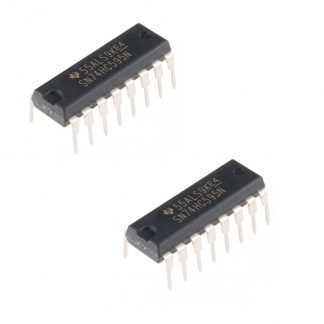 SN74HC595N Shift Register IC (pack of 2)