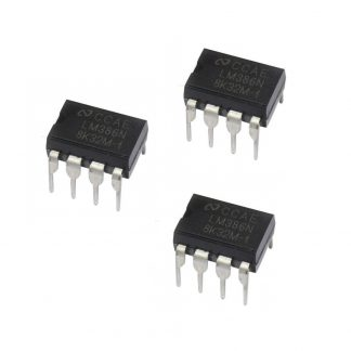 LM386 Audio Amplifier IC (pack of 3)