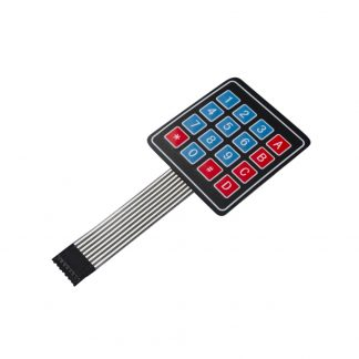 4×4 Membrane Keypad
